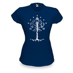 ThinkGeek :: Tree Of Gondor Babydoll-I feel sorry for the many people who would think that this is just a pretty tree