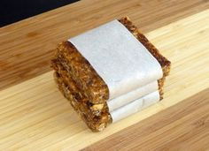 Homemade Clif bars! Perfect for camping or a quick breakfast on the go.   Solano's Kitchen