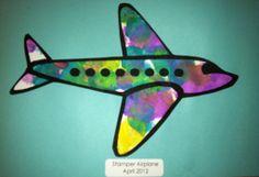 Stamper Airplane (need BINGO markers)