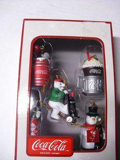 ❤Coca-Cola Mini Ornaments