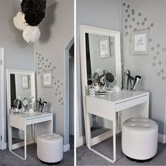 Love & Lace: Hello Beautiful: My Ikea Dressing Area + Vanity.