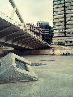 Puente en el Jardín del río Turia. Valencia