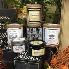 @tigerlilyboutiquetn  Just a couple of our favorite scents from @southernfireflycandle!! #tigerlilyboutique #shoplocaltn #boutique #mcminnvilletn