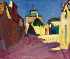 Arte Urbana  Henri Matisse - 'Street in Arcueil',1898, at Vienna`s Albertina Museum  (JA, Dez16)