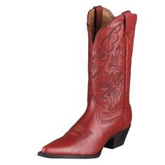 I've wanted red cowgirl boots since the first time I saw Lori Singer in Footloose (1984).