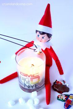 elf on the shelf chocolate candy