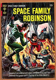 SPACE FAMILY ROBINSON #12 * VFn * Silver-Age Gold Key