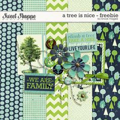 FREE A Tree is Nice - Freebie by Brook Magee
