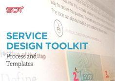 JAMK University of Applied Sciences Service design toolkit english by Fred Zimny's Serve4impact via slideshare