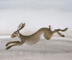 Leaping Hare by Harriet Bane