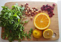 Quinoa and Arugula Salad with Lemon Vinaigrette Artichoke heart, fuji apple, cucumber, candied pecans and parmesan cheese salad with balsamic vinaigrette Arugula Recipes, Easy Salad Recipes, Easy Salads, Healthy Salads, Raw Food Recipes, Healthy Eating, Clean Eating, Arugula Salad, Quinoa Salad