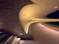 Press kit | 2404-02 - Press release | Oxygen Park, Education City, Doha - Qatar Foundation, AECOM - Institutional Architecture - Covered Walkway - Entrance Stair - Photo credit: Markus Elblaus