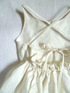 Linen Peter Pan Collar Dress