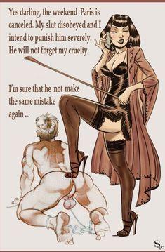 Femdom Captions, Feminized Boys, Female Supremacy, Sexy Cartoons, Dominatrix, One Punch Man, Mistress, Erotica, Cartoon Art