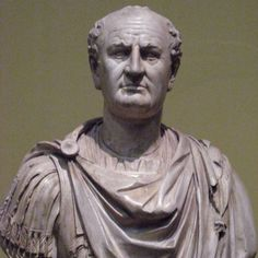 """Emperor Vespasian. Emperor from 69 to 79. As he was dying from an illness, he told his servants to stand him up, saying """"An emperor should die on his feet"""". His last words were """"Oh dear! I think I'm becoming a god!"""""""