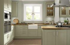 olive green kitchen