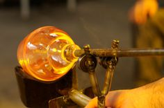How hard is it to learn glass blowing?