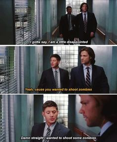 Dean says what we all think...
