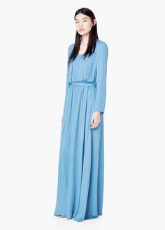 Pin for Later: 50 elegante, bodenlange Abendkleider unter 100 €  Mango Abendkleid in hellblau (100 €)