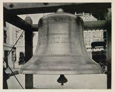 1893 Chicago World's Fair Souvenirs | 1893 Chicago World's Fair New Liberty Bell Grand Plaza ORIGINAL ...