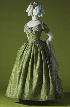 Evening Dress  c.1845  KCI