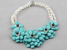 There are so many kinds of turquoise jewelry. They are all in fashion and bright color. The bright color is really suitable to summer. why not choose one from aypearl.com?
