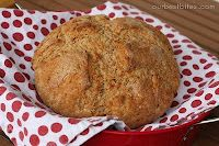 Irish Wheaton Bread, I love Irish Soda Bread, it is easy to make, and this wheat recipe is new to me!  I'll be whipping this beauty up soon!
