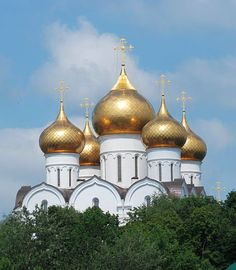YAROSLAVL, Russia: was preceded by Viking sites.  The Assumption Cathedral, originally built in stone in the early 1210s, was rebuilt in its current form in 2010.  Yaroslavl was incorporated into the Grand Duchy of Moscow in 1463. In the 17th century, it was Russia's second largest city, and for a time (during the Polish occupation of Moscow in 1612), the country's de facto capital.