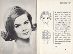 How to set your hair in rollers to get a flip hairdo Roller Set Hairstyles, 1960 Hairstyles, Vintage Hairstyles, Cool Hairstyles, Wedding Hairstyles, Medium Short Hair, Medium Hair Styles, Hot Rollers Hair, Foam Rollers