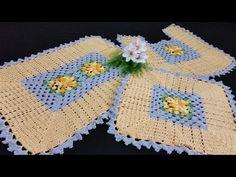 Crochet Designs, Crochet Patterns, Elsa, Blanket, Youtube, Ideas, Crochet Carpet, Diy And Crafts, Magic Circle Crochet