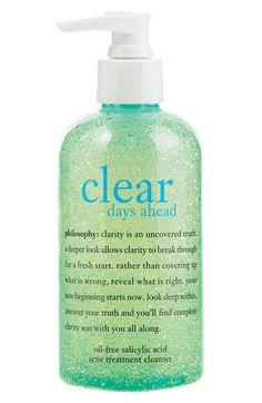philosophy 'clear days ahead' acne...   $20.00