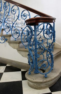 Newel Post: South Stairs Queen's House by curry15, via Flickr