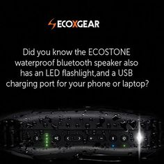 Our profile link takes you to our website. Use 'FB30' there for 30% OFF any new product.  #ecoxgear #ecostone #waterproofspeaker #bluetoothspeaker #surf #sup #camp #sale #bestgiftever