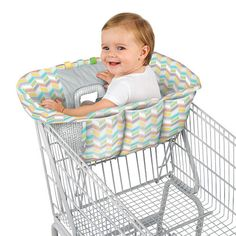 "Comfort & Harmony Reversible Cozy Cart Cover - Kids II - Babies ""R"" Us"