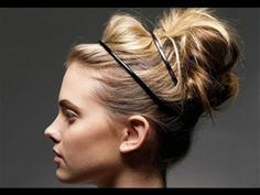 Great for  party hair ♥ Easy No Heat Updos in Under 5 Minutes || RachhLoves