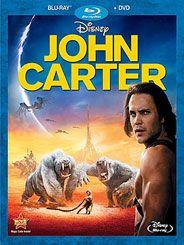 John Carter Blu-ray DVD Combo Pack