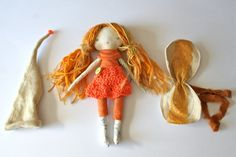 on HOLD for BETH - a little ray of sunshine, handmade rag doll, cloth doll…