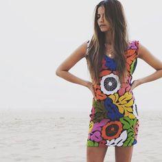 @sarahpeinado in the ultimate little summer dress ....shop las flores