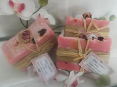 Rose soap Rose Soap, Natural Soaps, Cold Process Soap, Home Made Soap, Selling On Ebay, Lotions, Soap Making, Bath And Body, Lab