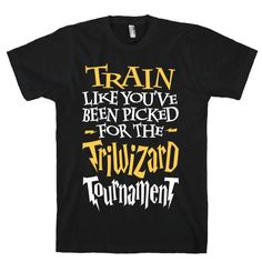 Train Like You've Been Picked For The Triwizard Tournament #fitness #nerdy #workout #train #wizard #harrypotter #awesome #motivation #sweat