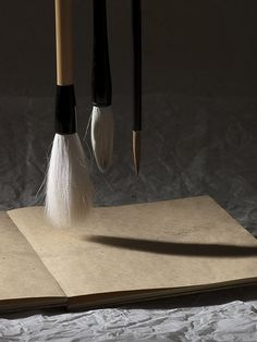 Japanese calligraphy brushes  Need to try these out/ i bet they're beautiful