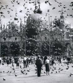 Wolf Suschitzky - Piazza San Marco, Venice, Italy, 1957