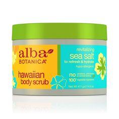 Rank & Style - Alba Botanica Hawaiian Sea Salt Body Scrub #rankandstyle
