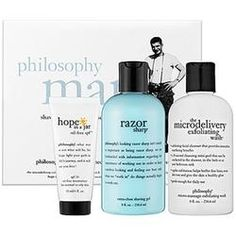 Philosophy Shave And Skin Care Essentials For Men  $48.00