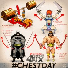 Workout Chest Day 101 Build your Chest Up
