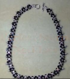 Perfect Storm Necklace Tutorial by Off the Beaded Path