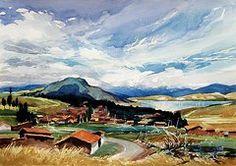 Cusco Paintings - Huaipo  by Oscar Cuadros