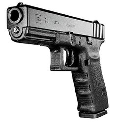 Glock 20- the most powerful glock. 800lbs of muzzle energy in a semiauto plastic pistol. Can be fun at the range. I had bruises on my palms the first time I shot it.