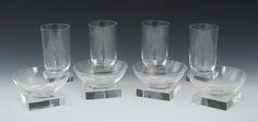 A Collection of Libbey-Nash Knickerbocker Glassware, ca. 1933 ...