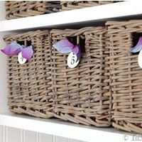 How+to+Create+an+Aged+Driftwood+Finish+on+Baskets+via+@InMyOwnStyle
